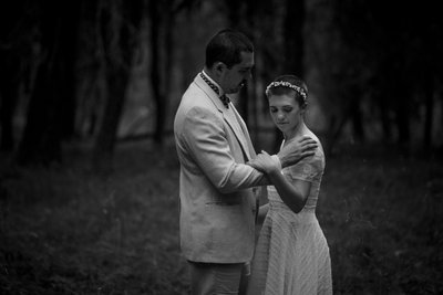 Moody Elopement Photography
