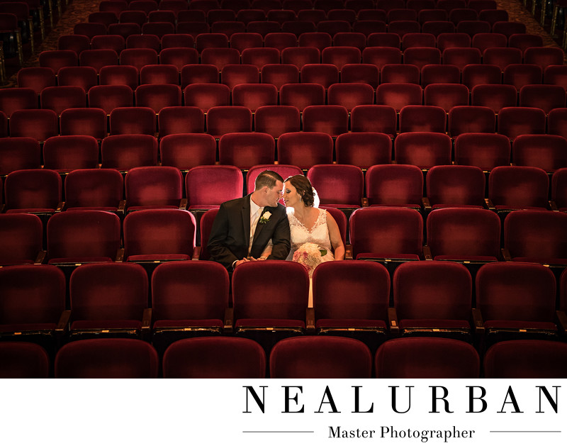 buffalo shea's performing art theatre wedding photography