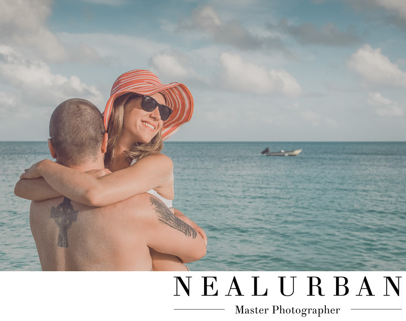 buffalo destination photographer antigua bridal session