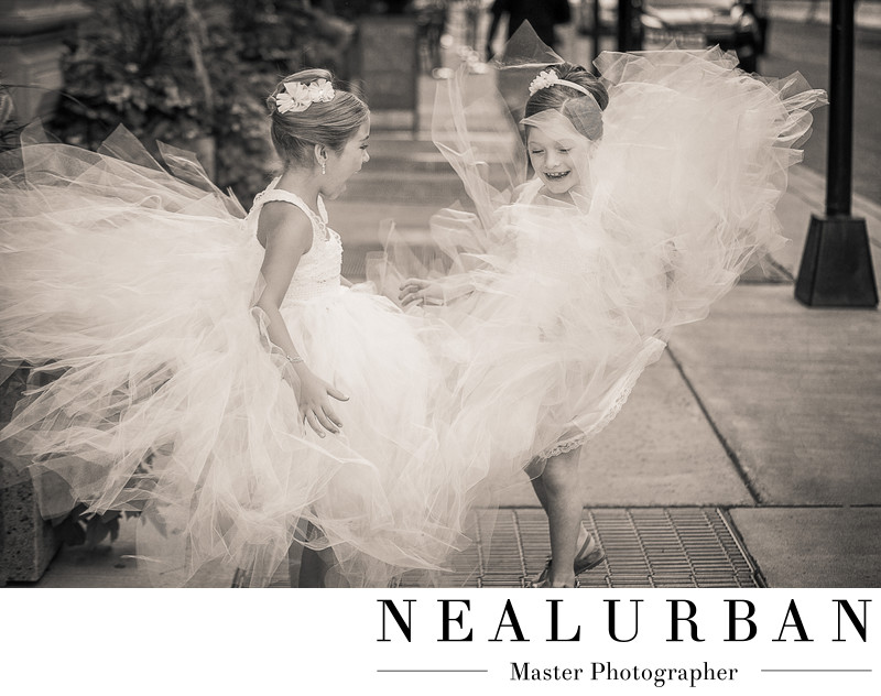 buffalo flower girl dresses at hotel lafayette ceremony