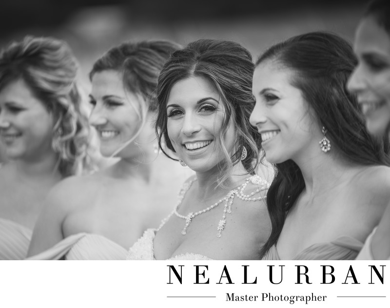 buffalo bridal portrait bridesmaids poses photography