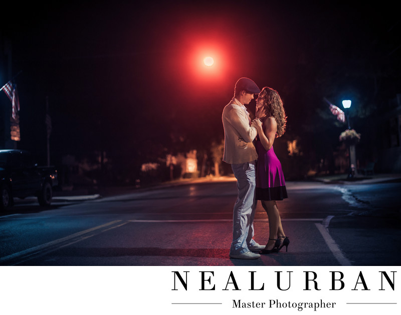 Youngstown NY Notebook Themed Engagement Session