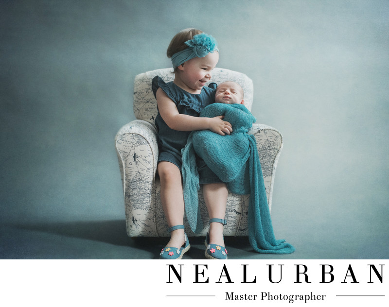 Newborn Family Session at Neal Urban Studio