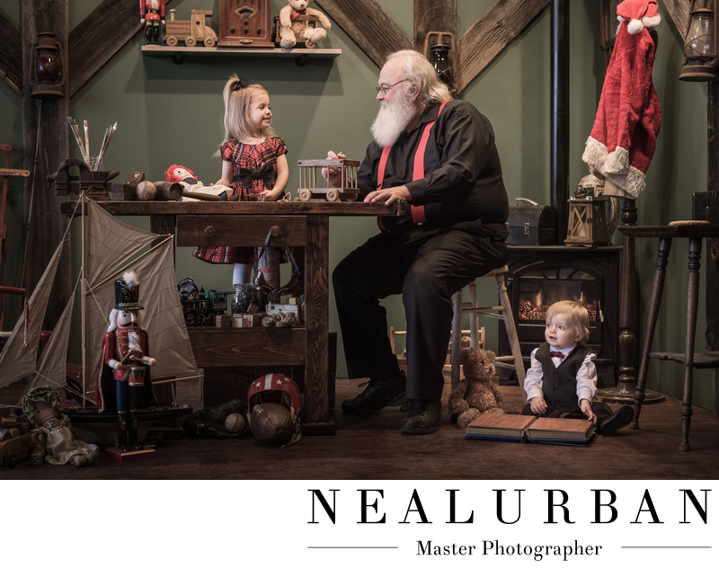 Vintage Christmas at Neal Urban Studio