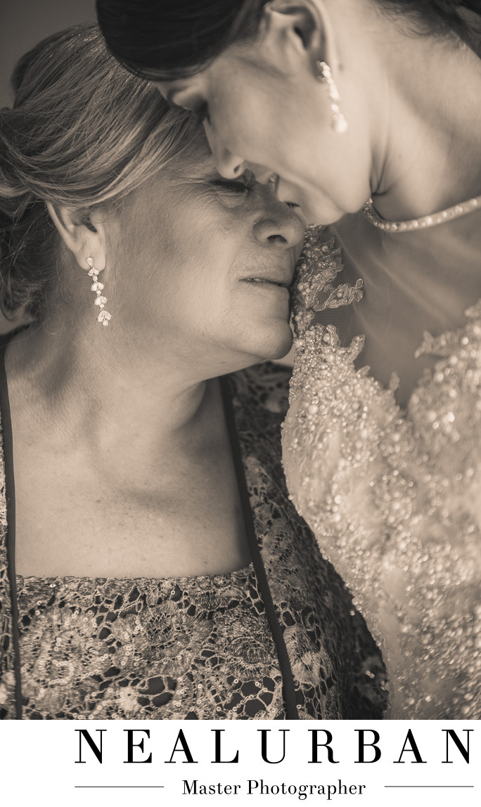 buffalo wedding photographers bride mother emotion