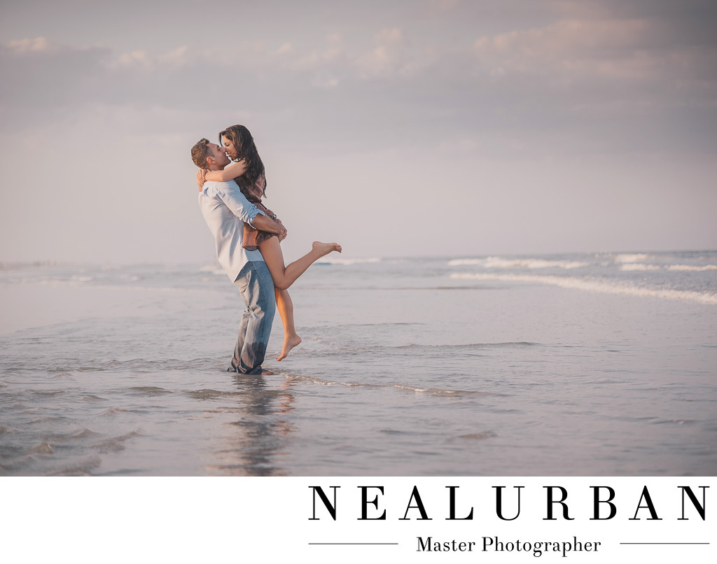 st augustine beach engagement photographers notebook