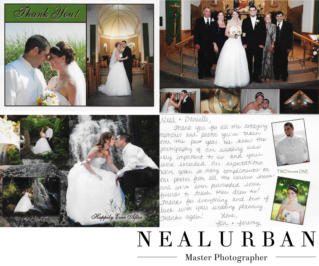 buffalo best wedding photography review thank you cards