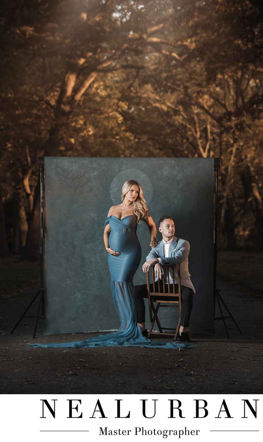 Maternity Portrait Session Outdoor