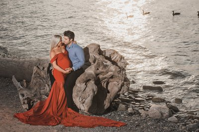 Maternity Session along the water