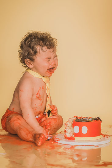 buffalo first birthday cake smash photography studio fail
