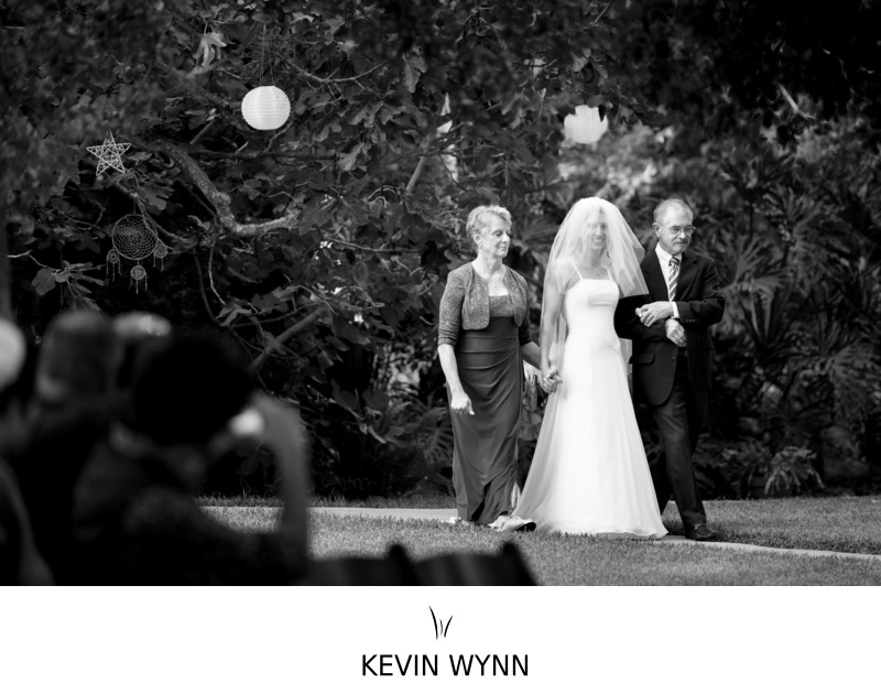 Glen Muse Estate in Ojai Wedding Ceremony Photograph