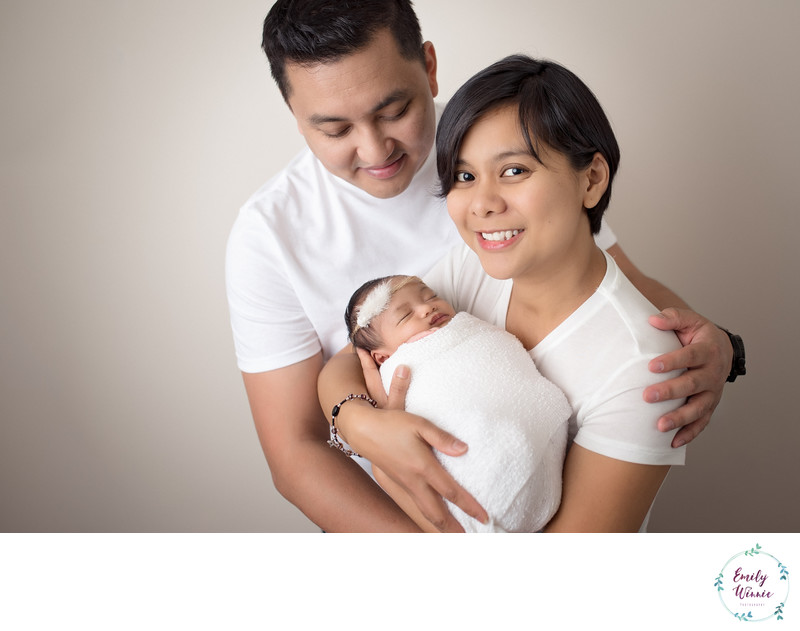 Emily Winnie Photography-Family With Baby