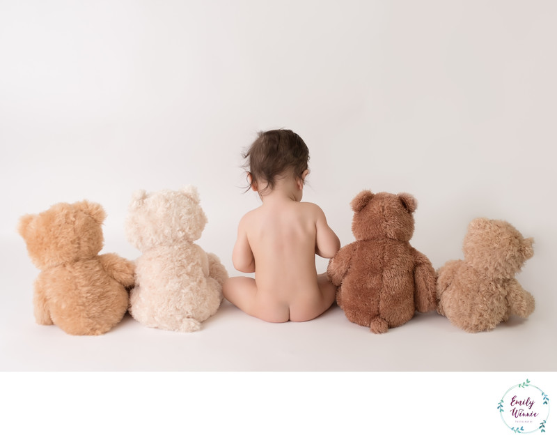 Baby Sitting with Teddy Bears