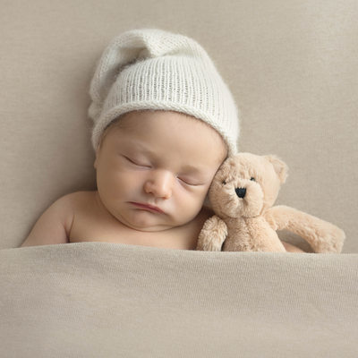 Newborn photo-Beau sleepy-Culver City
