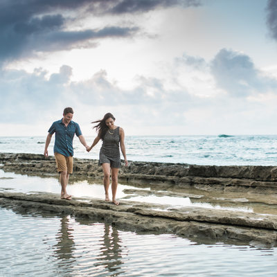 Engagement Session on Kauai reef