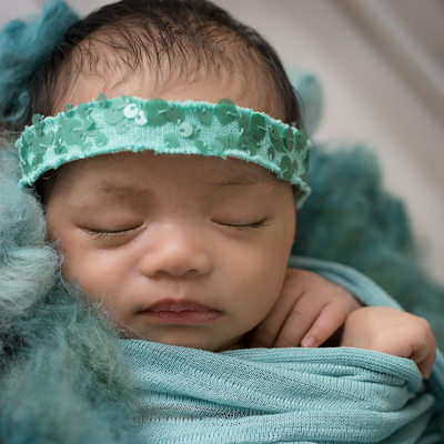 Emily Winnie Photography- Baby in Teal- Los Angeles