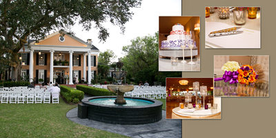 Southern Oaks Plantation wedding photos New Orleans LA