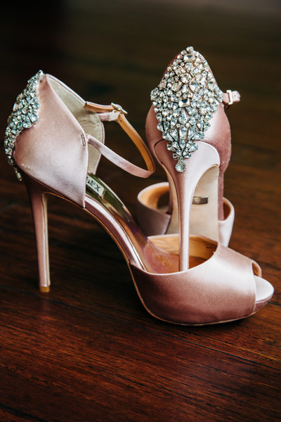 Gem Dazzled Bridal Shoes
