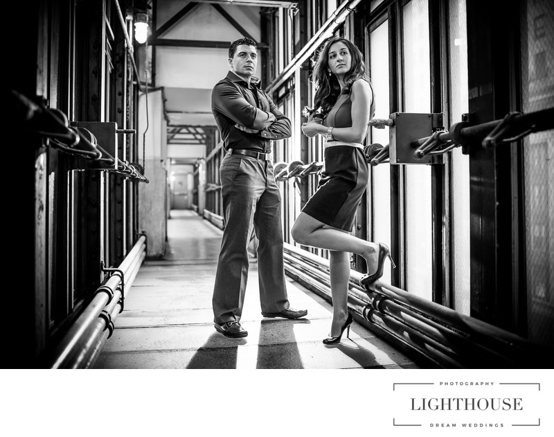 Grand Central engagement photo