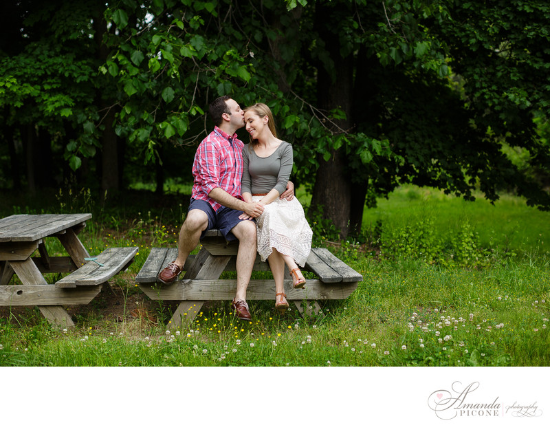 Summer Engagement Photos in Esopus New York