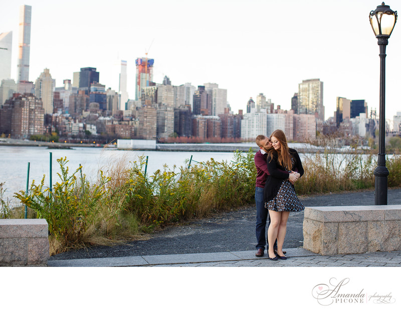 Gantry Plaza Long Island City Engagement Photos
