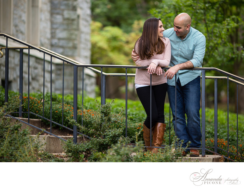 New Jersey Fall Engagement Photos Amanda Picone