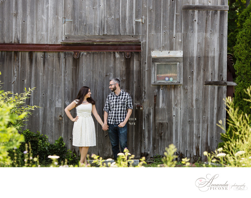 North Fork Long Island Engagement Photos summer