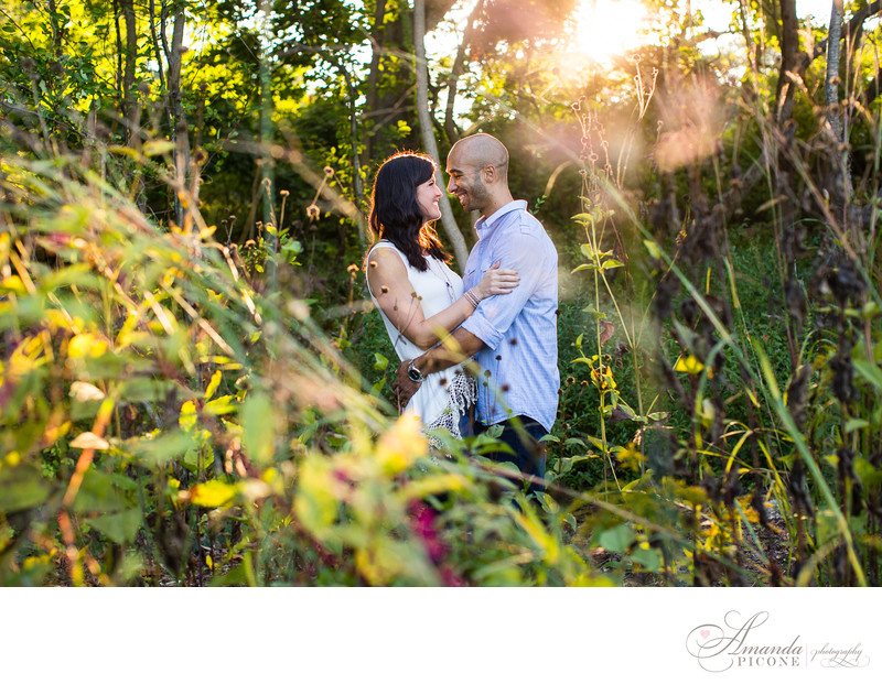 Summer engagement photos Avalon Stonybrook Long Island