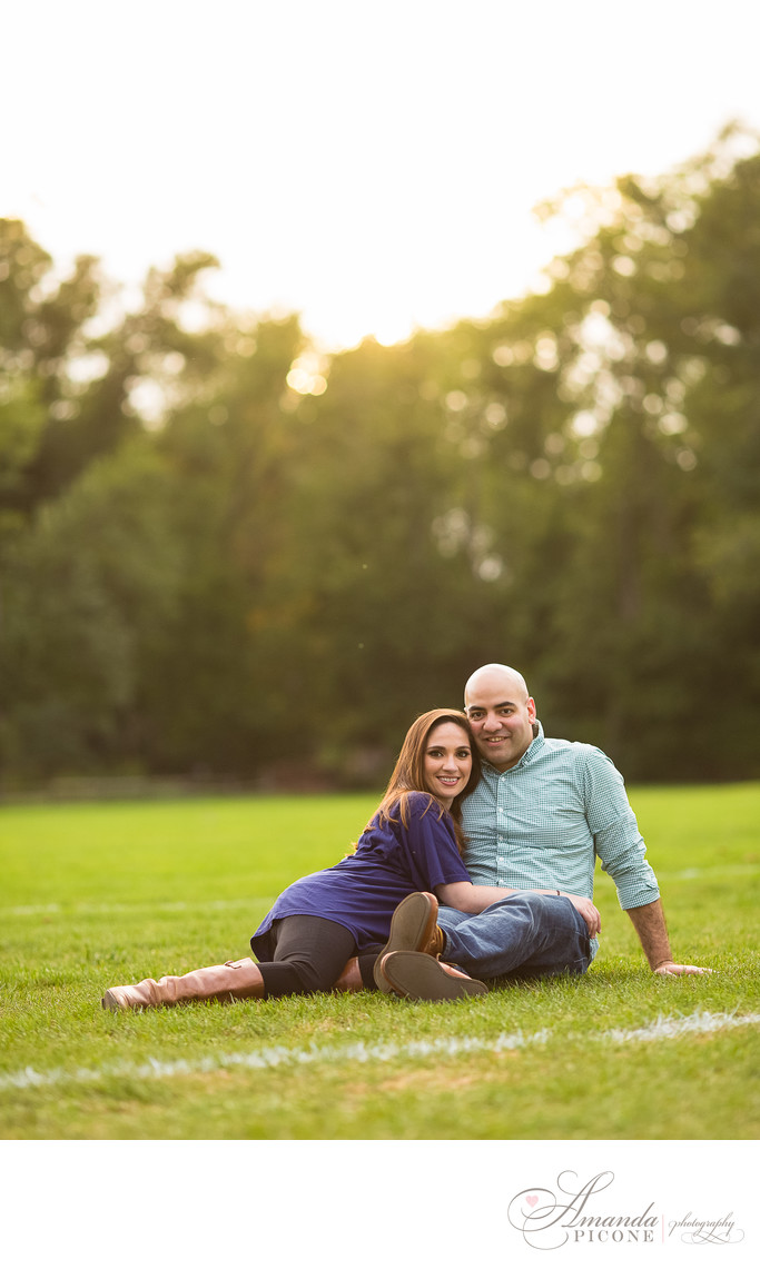New Jersey engagement photo shoot Amanda Picone