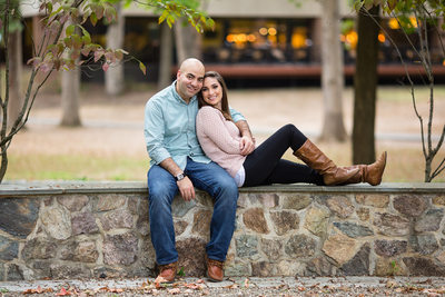 Fall Engagement photos in New Jersey Amanda Picone