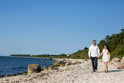 Long Island North Fork Beach Engagement photography