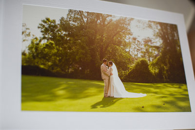 Long Island Country Club Wedding Album Photographer