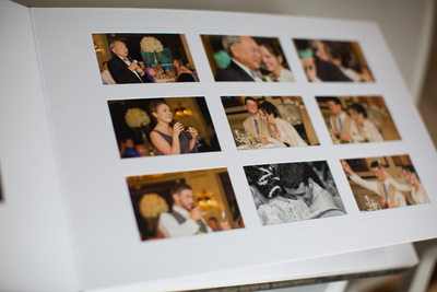 Wedding Reception Photo Album Long Island Photographer