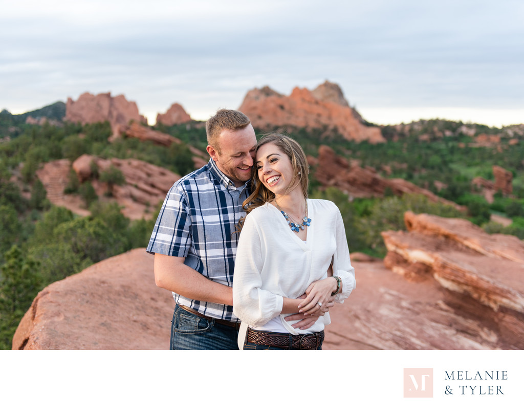 Engagement Pictures at Garden of the Gods