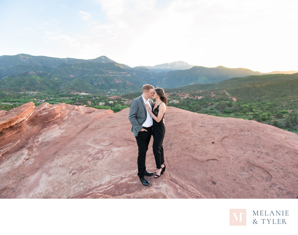 Garden of the Gods Engagement Photos
