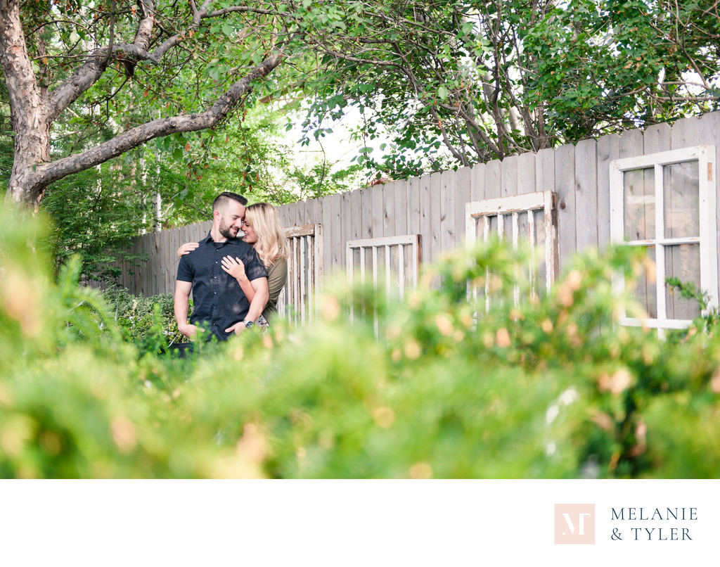 Garden Center Engagement Session