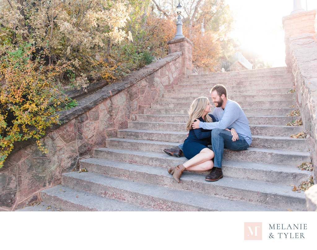 Manitou Springs Engagement Photo