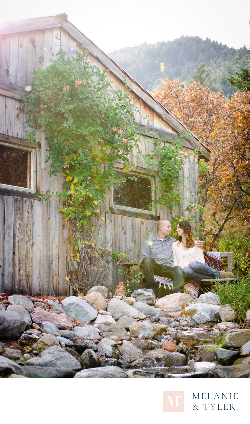 Engagement Photos at Cheyenne Mountain