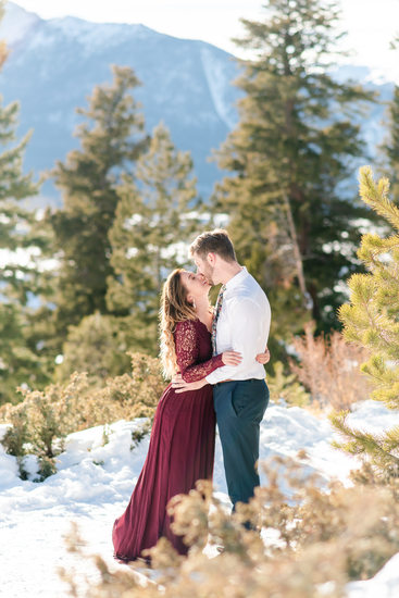 Colorado Mountain Engagement Photos