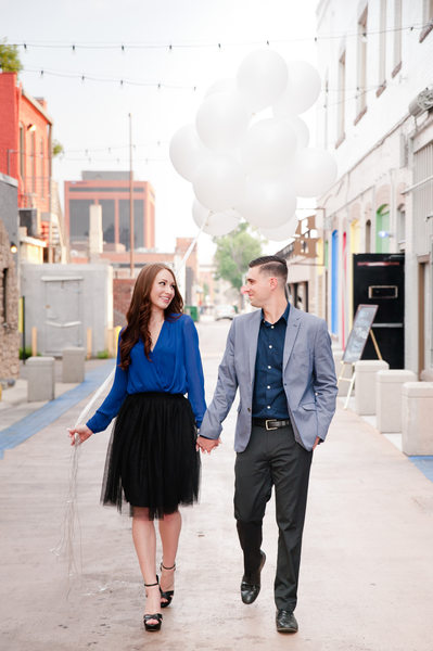 Downtown Colorado Springs Engagement Session