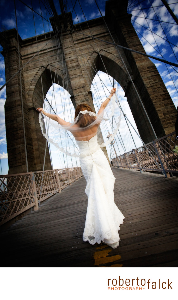 new york wedding photographer brooklyn bridge