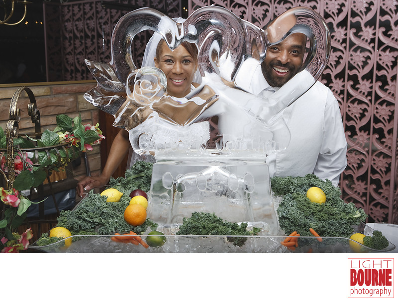 Chateau Hall, Philly  Ice Sculpture ,