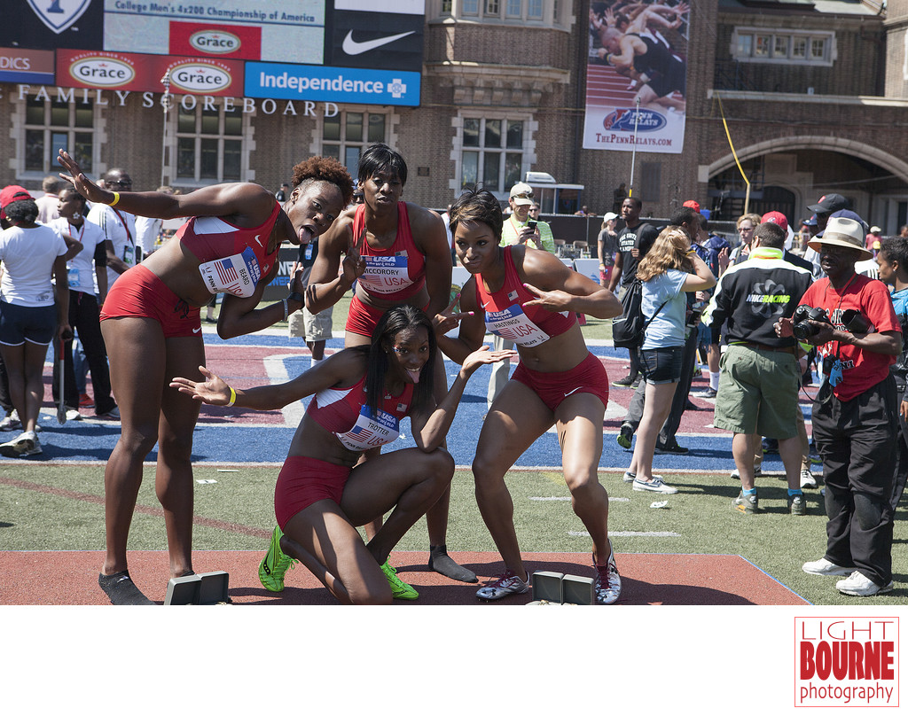USA Women's Relay track Team