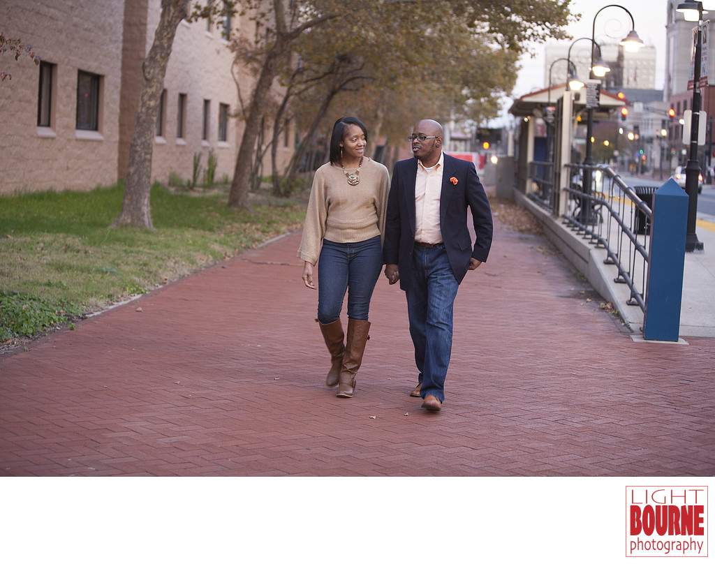 Cooper Street Engagement Shoot, Camden, New Jersey