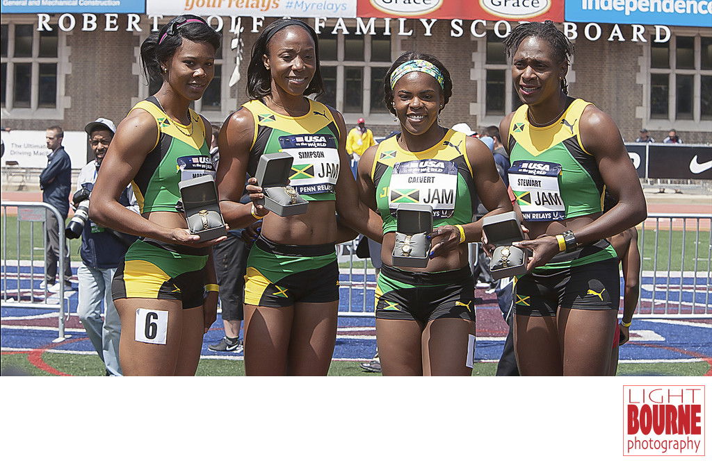 Philadelphia Jamaica Women's Relay  Penn Relays Photo