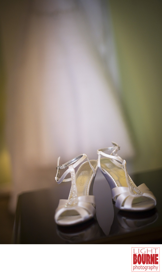 South Jersey Wedding Dress and Shoes