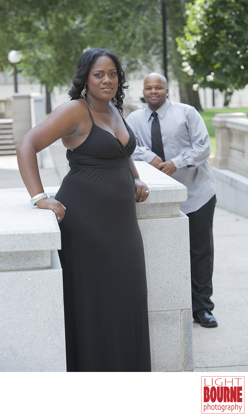 Camden New Jersey Engagement Couple