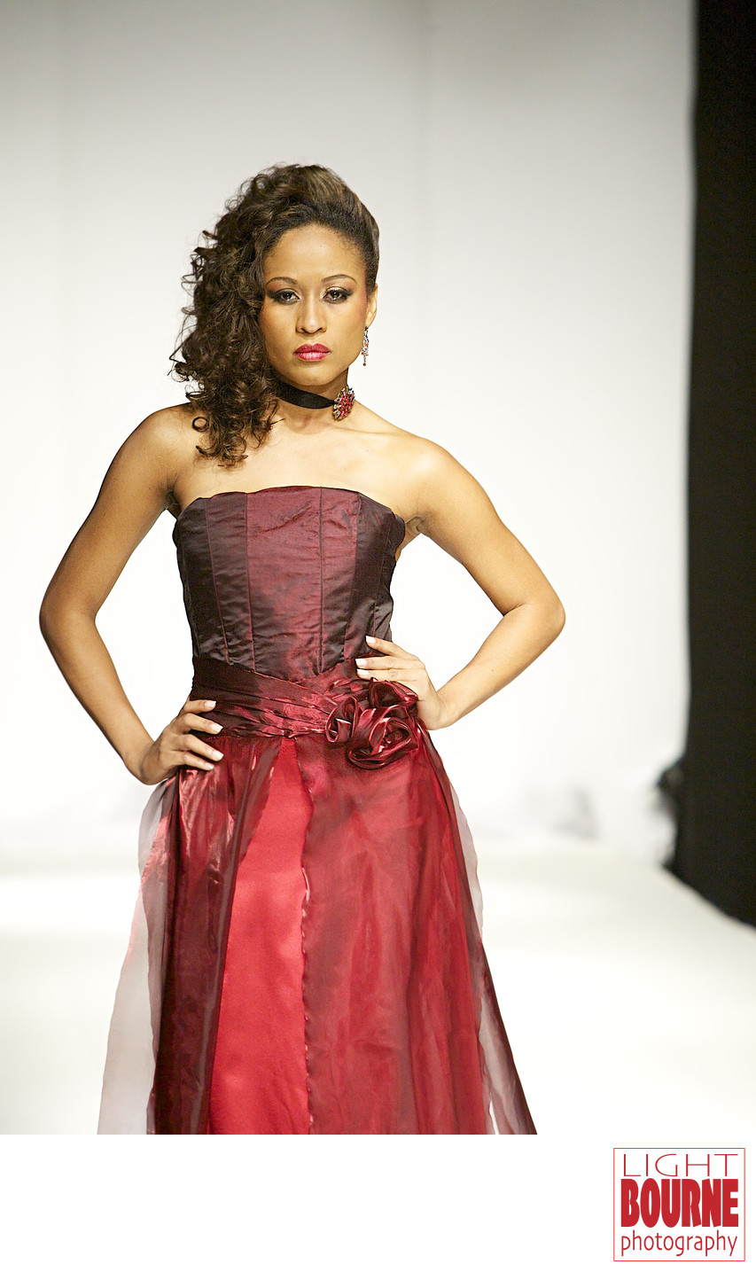Haitian Fashion Model
