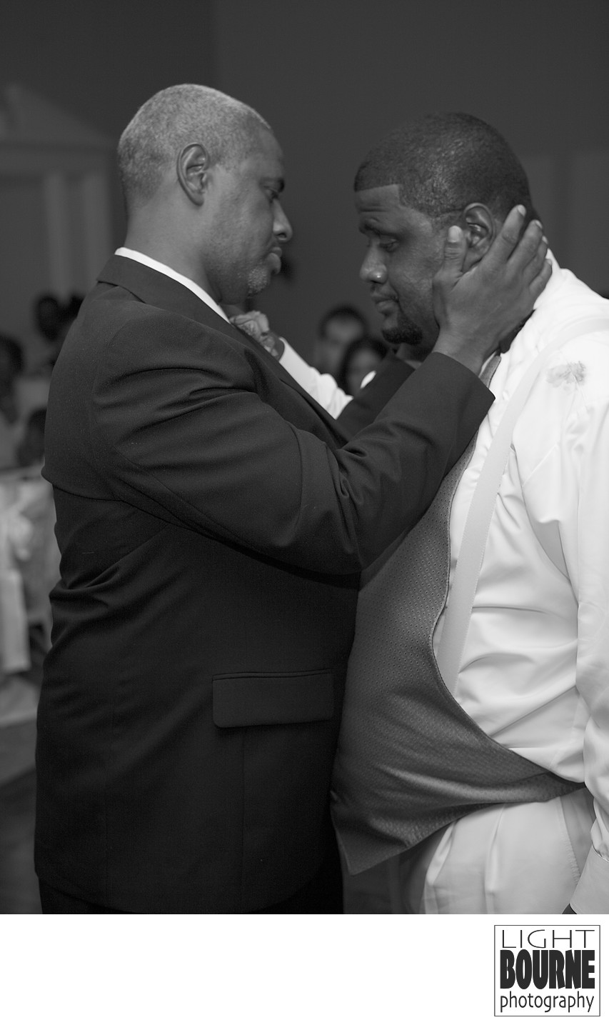 Philadelphia Groom and Dad Lightbourne Photography