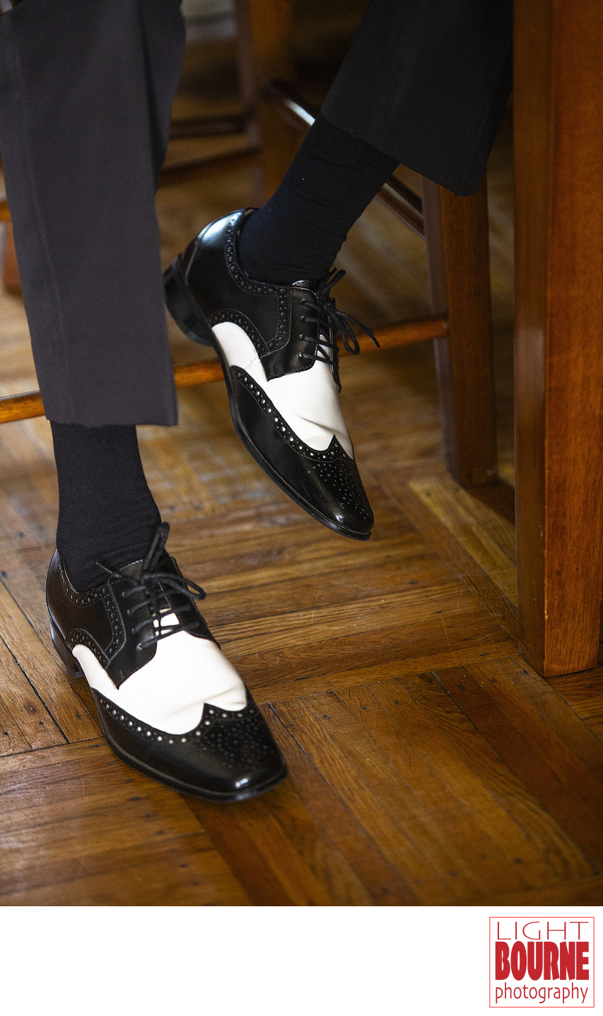 Groom Wedding Shoes Philadelphia Photographer